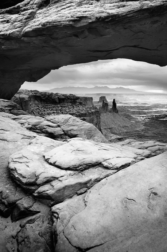 Canyonlands from Mesa Arch
